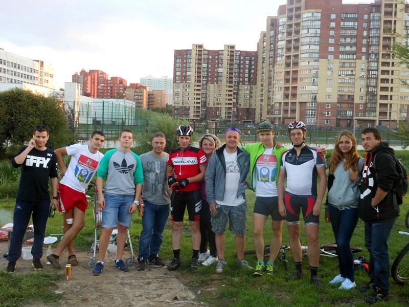 Велопарад в городе Мытищи 6 сентября 2014 (фото от группы ВЕЛОМЫТИЩИ)
