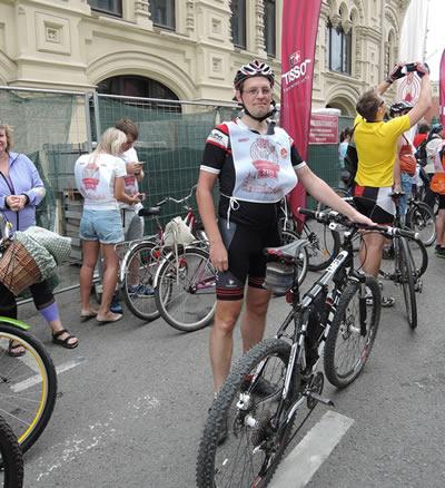 На ГУМовских Велокатаниях 2015