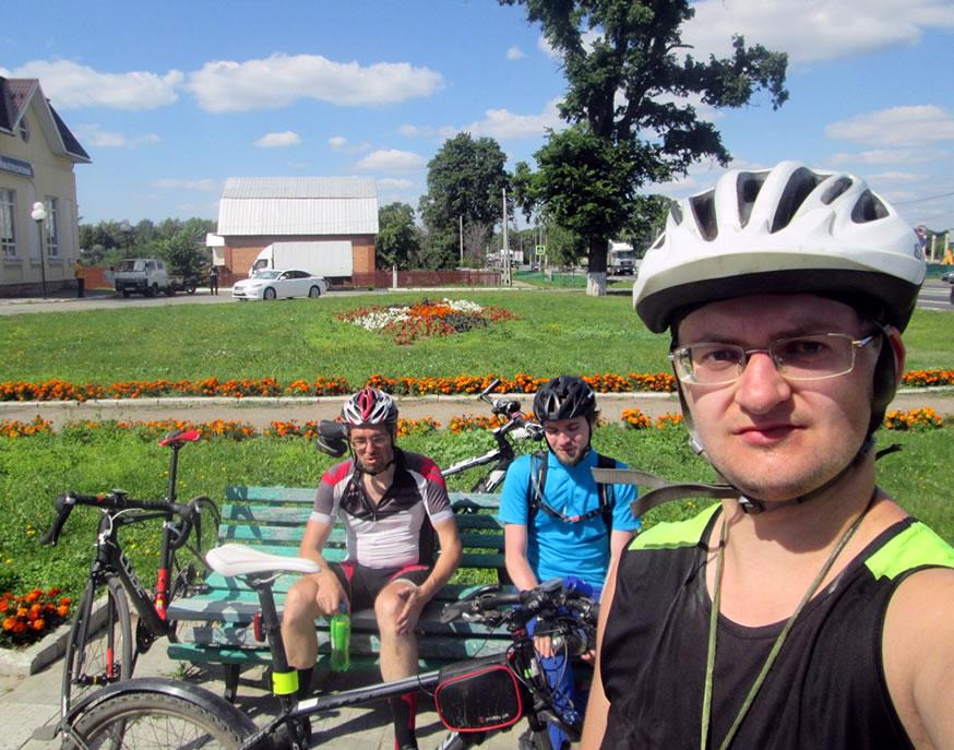Велозаезд в Рязань. Дорога в Коломну