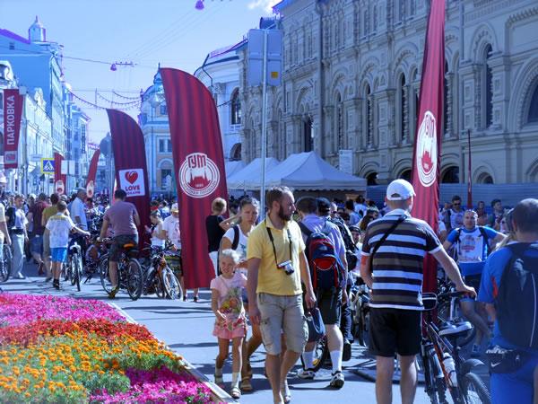 ГУМовские велокатания 2014