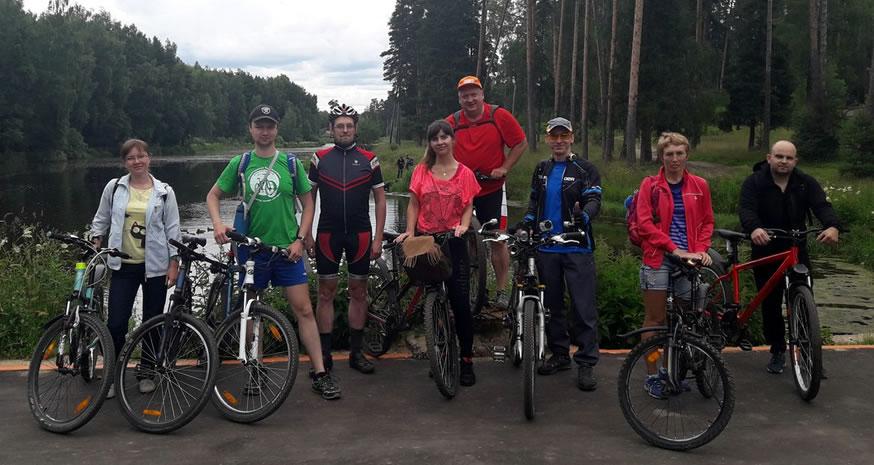 Велопрогулка до дачи-музея В.В. Маяковского