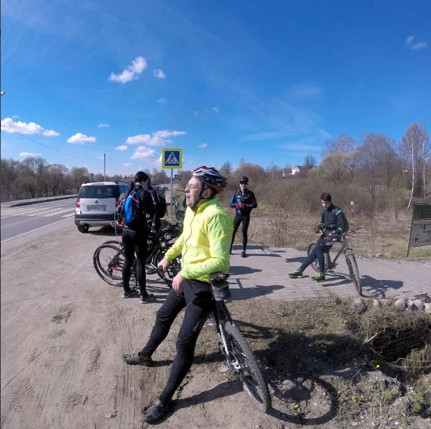 На дороге в Сергиев-Посад