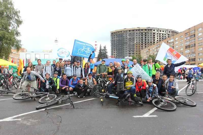 Велопробег на День города Щёлково